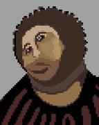 【ドット絵】この猿を見よ【フレスコ画】
