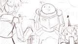 【1-4コマ】ひそーてんそく?【第9回東方ニコ童祭Exリレー漫画】