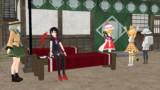 MMD世界のEX3娘達との生活、サーバルちゃんとかばんちゃんが幻想入り編 3話