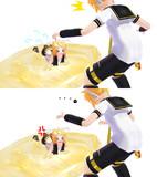 【MMD】リンの服を破いてみた エピローグ