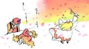 【2-3コマ】あきらメイテル【第9回東方ニコ童祭Exリレー漫画】