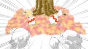 【2-4コマ】AKIら【第9回東方ニコ童祭Exリレー漫画】