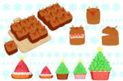 【MMD】クリスマスのお菓子【アクセサリ配布】