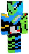 マイクラスキン 仮面ライダービルド 海賊レッシャーフォーム