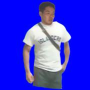 立ちすくむシャツ先輩.bb