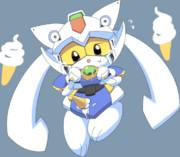 ソフトクリーム大好きガンダム