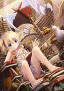 無限図書館の少女