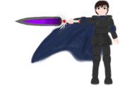 壁紙:Black Knight(エフェクト&背景無し)