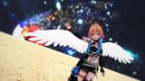 白い羽根の天使