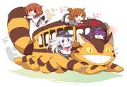 第六駆逐隊×猫バス