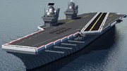 【Minecraft】インペリウム級航空母艦