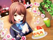 おいしいケーキを いただきます♡