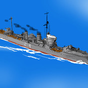 樅型駆逐艦 - ニコニコ静画 (イラスト)