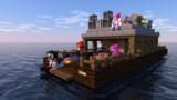 【Minecraft】ヒーロー達が船旅に出たようです【#コンパス】