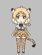 ジャガーのドット絵