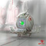 可変スラスター装備戦闘機型MS「スペースボールS1」