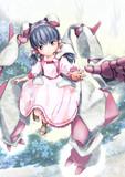 行動補助兵器を纏う少女