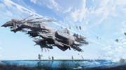 ノスチルカ可視領域監視艦隊所属 旗艦ニクス・メルキュリア
