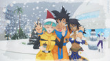 MMD - It's snowing at the capsule Corp!