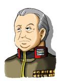ジャブロー土竜~地球連邦軍ゴップ提督
