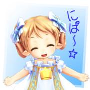 メルフィ『にぱ~☆』~スタンプっぽい何か~
