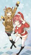 クリスマスあぶきぬ