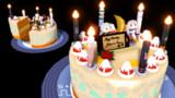 【配布】結月ゆかり&紲星あかり誕生祭2017記念ケーキ