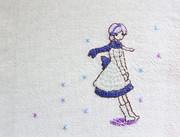ユフさん(刺繍)