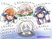新潜水ちゃんvs海防艦の皆さん