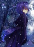 黒の森にも、白い冬が訪れる――