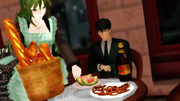 【Fate/MMD】カフェの一般人