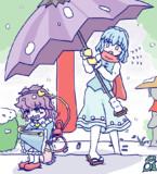 さとりと小傘