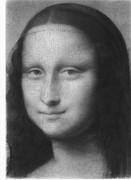 【精密鉛筆画】モナリザの顔を原寸大で完コピしてみた