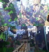 【Minecraft】自然に囲まれた古城【NaturRuine】