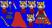 千賀風タイガーマスク(目にピーマンを注いだもの)