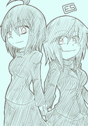 先輩ちゃんと妹ちゃん