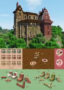 【Minecraft】ミニアチュリア・Xmasアップデート【リソースパック配布】