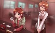 イケメンお客さん木下ひなた+長女桜守歌織
