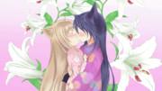 【動かしてみた】柚ちゃんと皐ちゃんのキスシーン【Live2D】
