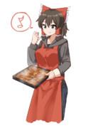 シナモンロールを作るmaru姉貴