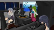 夕雲さん達を夕雲型駆逐艦に乗せてみた その1