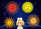 5月の太陽