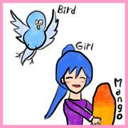 BGM (Bird, Girl, Mango)