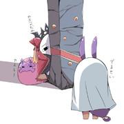 エレシュキガルの腰巾着になった刑部姫