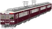 【期間限定】阪急6300系電車_β版【MMDモデル配布】