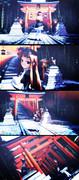 【第二回MMDオリキャラ祭り】迷い込む喪服レア様