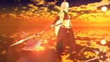 【第二回MMDオリキャラ祭り】夕日に映えるアーネさん