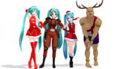 【MMD】クリスマスが今年もやってくる♪