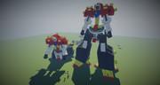 【jointblock】デビルガンダム(最終形態)を作ってみた【minecraft】