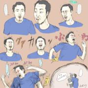 ゲームで発狂する韓国のおじさん